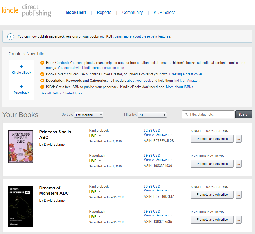 Kindle Direct Publishing Kdp A High Level Overview